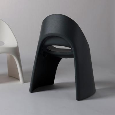 AMELIE Stuhl anthrazit, von Hinten
