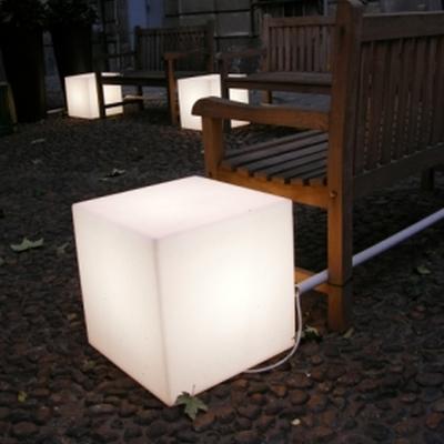 CUBO Leuchtwürfel mit Akku / LED mit weißem Licht
