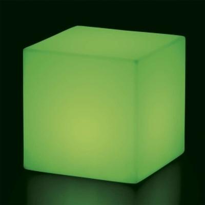 CUBO Leuchtwürfel mit Akku / LED grün leuchtend