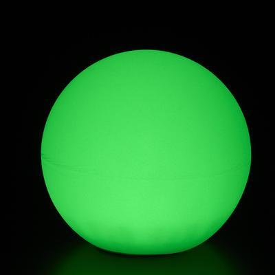 GLOBO Leuchtkugel mit Akku / LED, grün leuchtend