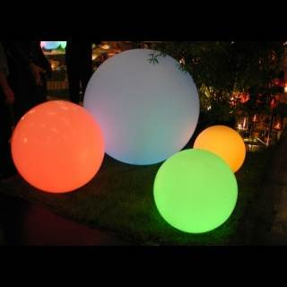 GLOBO Leuchtkugel mit Akku / LED