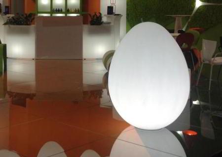 DINO beleuchtetes Riesen-Ei 120 oder 160 cm