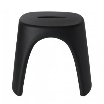 AMELIE STOOL Hocker anthrazit-schwarz