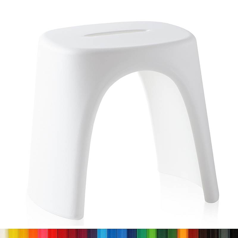 AMELIE STOOL Hocker Outdoor, stapelbar, Farbe nach Kundenwunsch