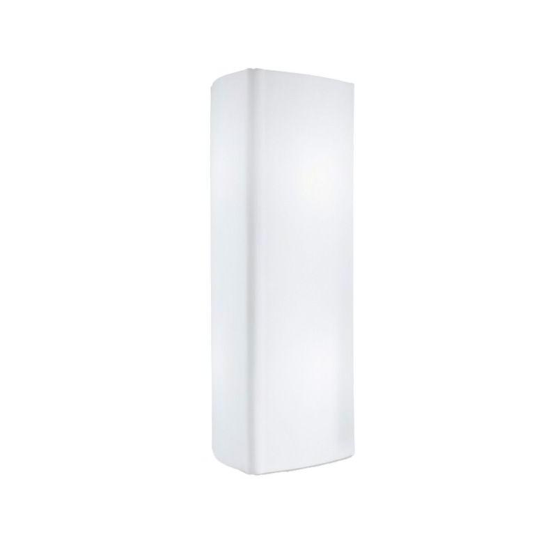 City Leuchtsäule / Litfaßsäule 200 cm, weiß, Outdoor