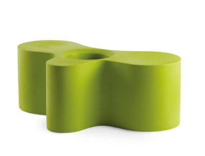 WHEELY Tisch und Bank grün