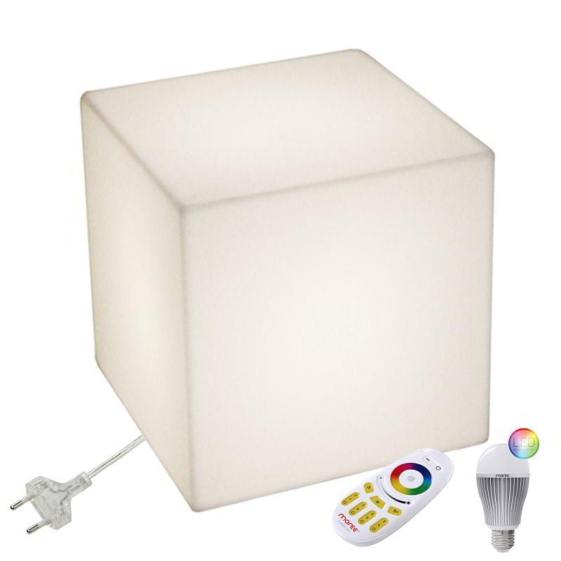 CUBO Leuchtwürfel mit LED Beleuchtung, Indoor