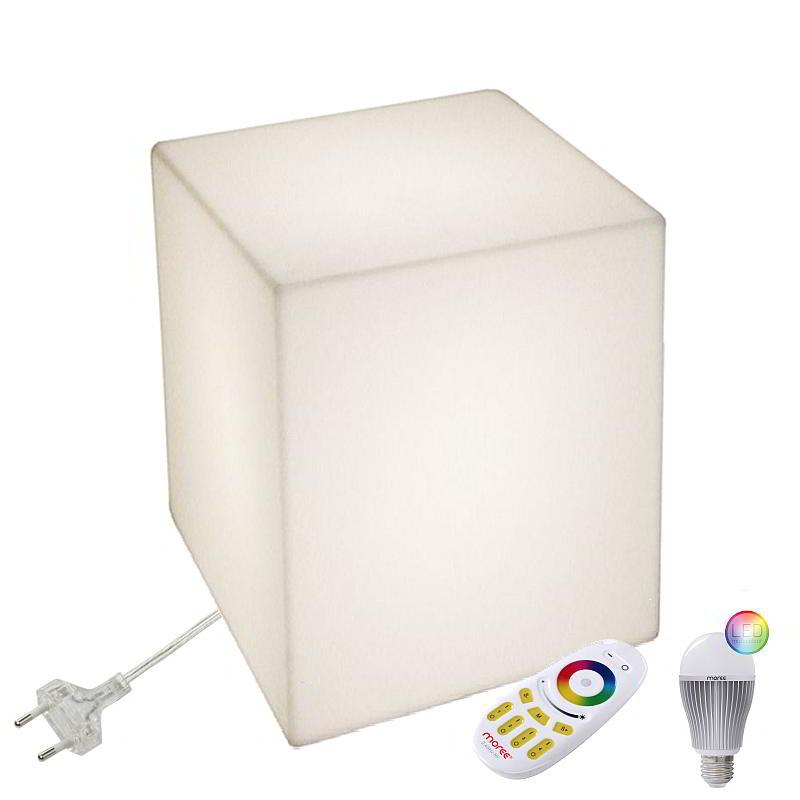 CUBO 50 Leuchtwürfel mit LED Beleuchtung, Indoor