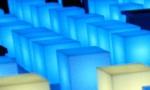 CUBO Leuchtw�rfel Outdoor mit LED Beleuchtung, Hersteller Slide Design