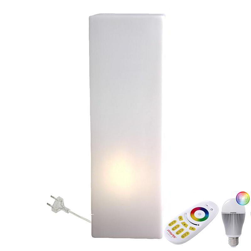 IO Leuchtsäule Indoor mit LED Beleuchtung und Funk-Fernbedienung