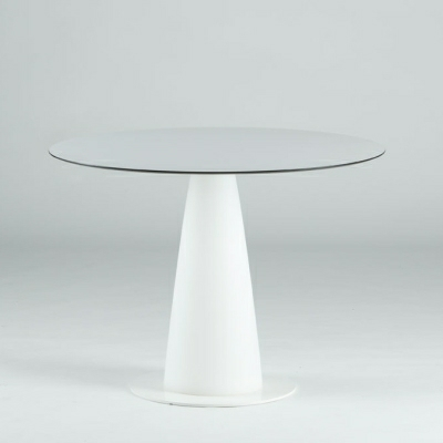 HOPLA beleuchteter Esstisch, Tischplatte Ø 69 cm