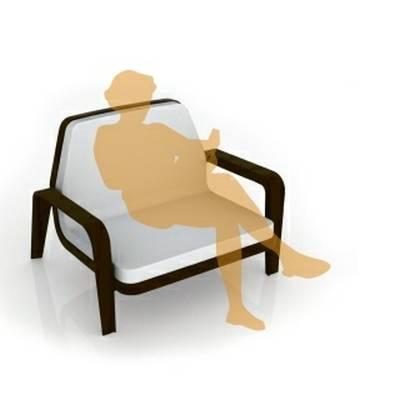 AMERICA Lounge-Armlehnstuhl inkl. Kissen