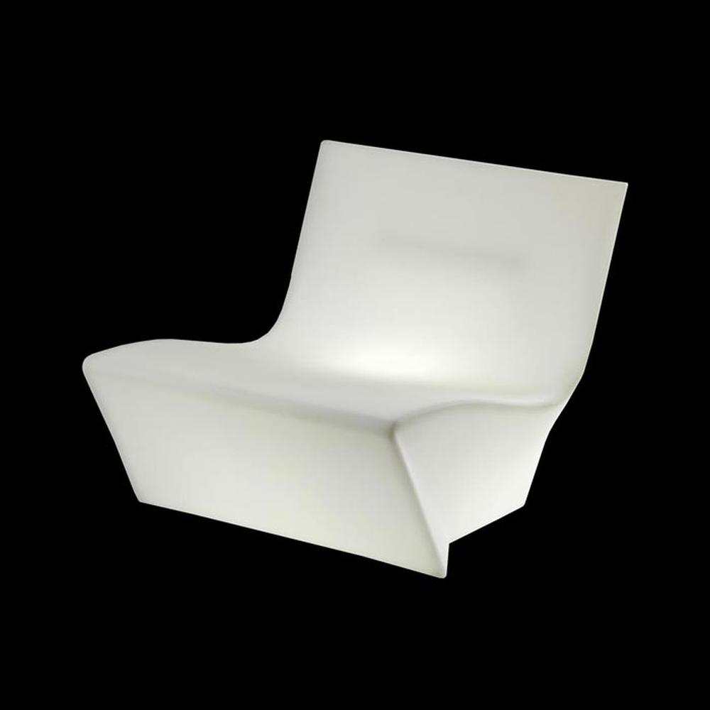 KAMI ICHI Low Chair beleuchtet Indoor