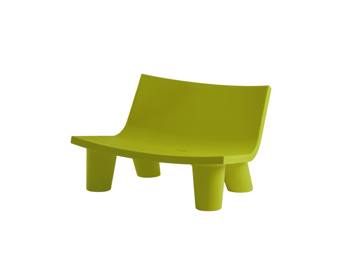 LOW LITA Gartensofa / Loungesofa lime green