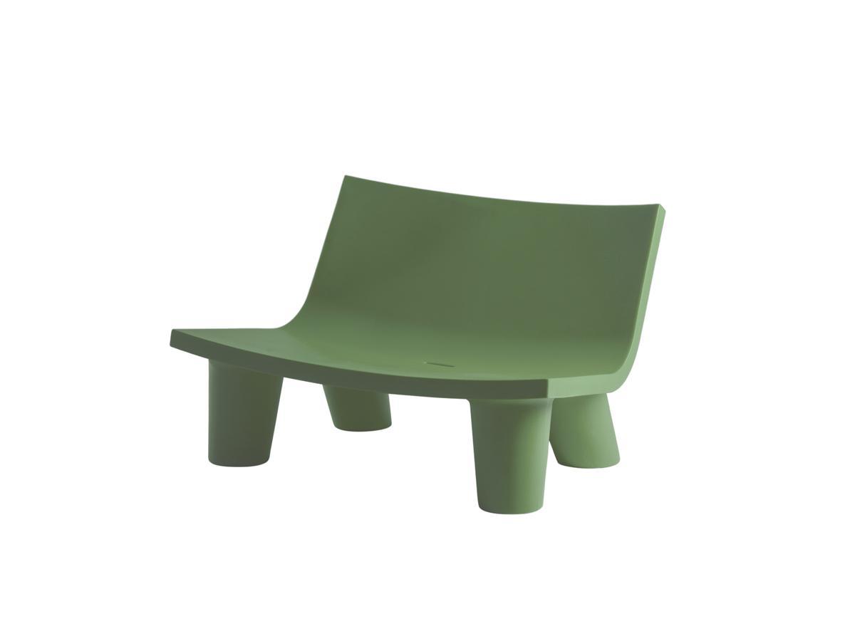 LOW LITA Gartensofa / Loungesofa malva green
