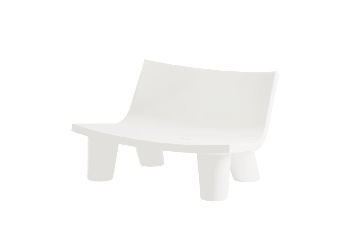 LOW LITA Gartensofa / Loungesofa milky white