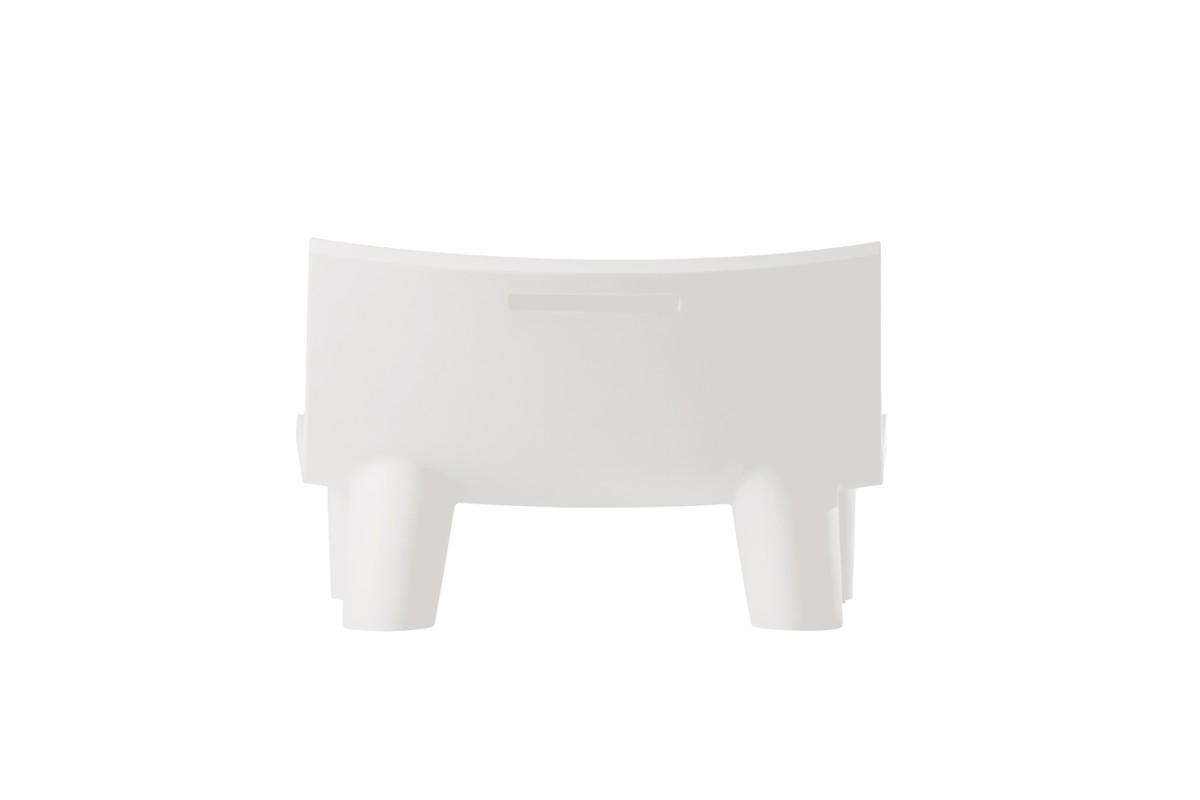 LOW LITA Loungesofa / Gartensofa weiß, Rückseite