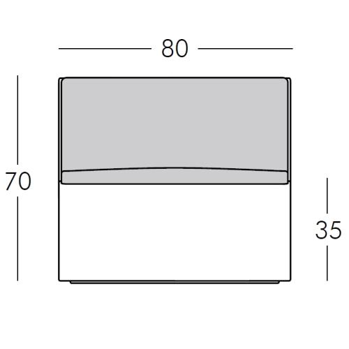 Maße Frontansicht