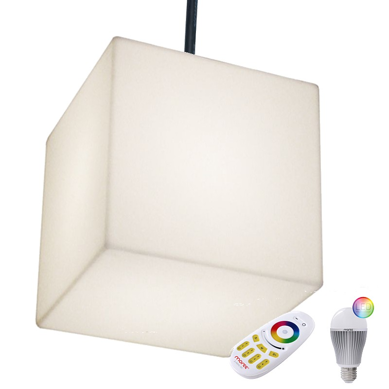CUBO HANGING Pendelleuchte Outdoor mit LED-Beleuchtung