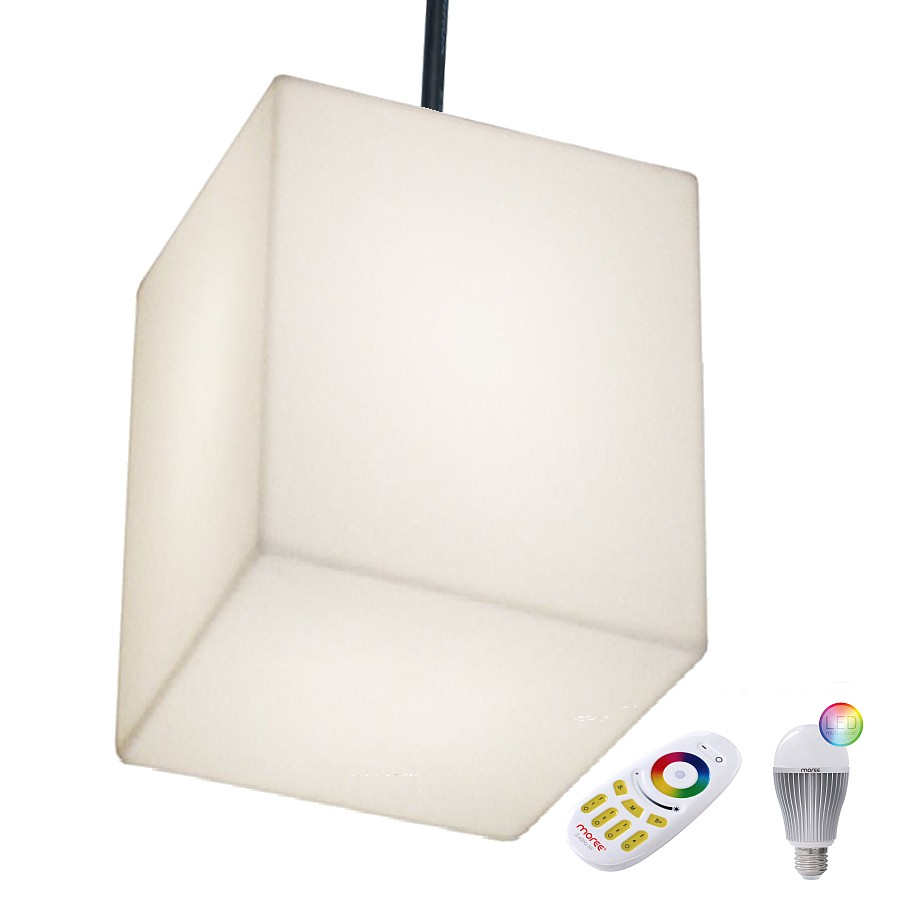 CUBO 50 HANGING Pendelleuchte Outdoor mit LED-Beleuchtung