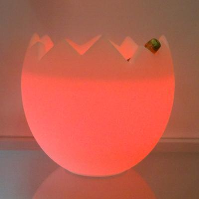 KALIMERA Flaschenkühler als Ei LED orange