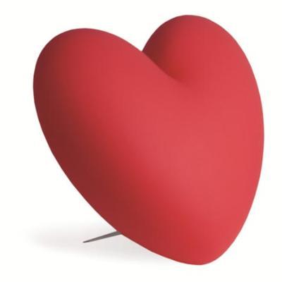 LOVE Tischleuchte beleuchtetes Herz rot