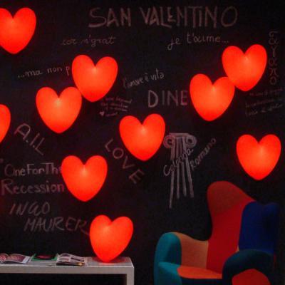 LOVE Tischleuchte beleuchtetes Herz