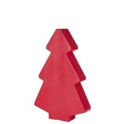 Roter Weihnachtsbaum 100 cm, beleuchtet