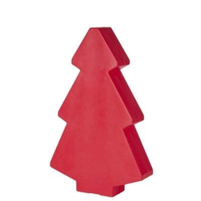 Roter Weihnachtsbaum 150 cm, beleuchtet