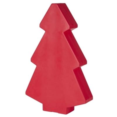 Roter Weihnachtsbaum 200 cm, beleuchtet