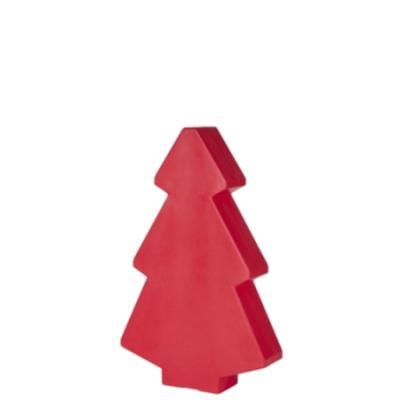 Roter Weihnachtsbaum 45 cm, beleuchtet