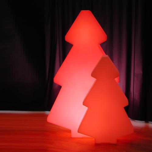 LIGHTREE beleuchteter Weihnachtsbaum rot