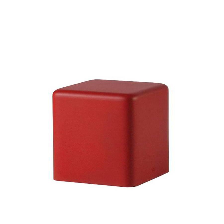 SOFT CUBO Hocker 43 cm, soft red