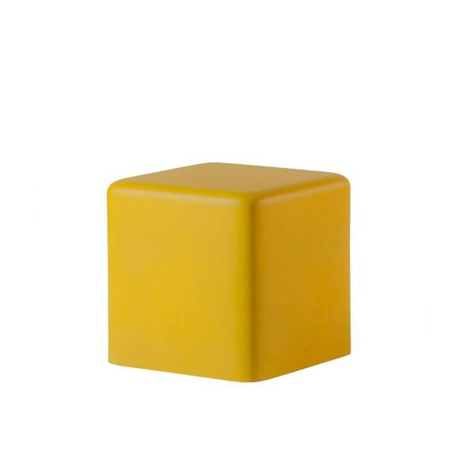 SOFT CUBO Hocker 43 cm, soft yellow