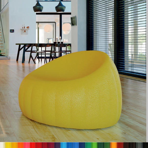 GELEE LOUNGE Sessel / Gartensessel, Farbe nach Wahl