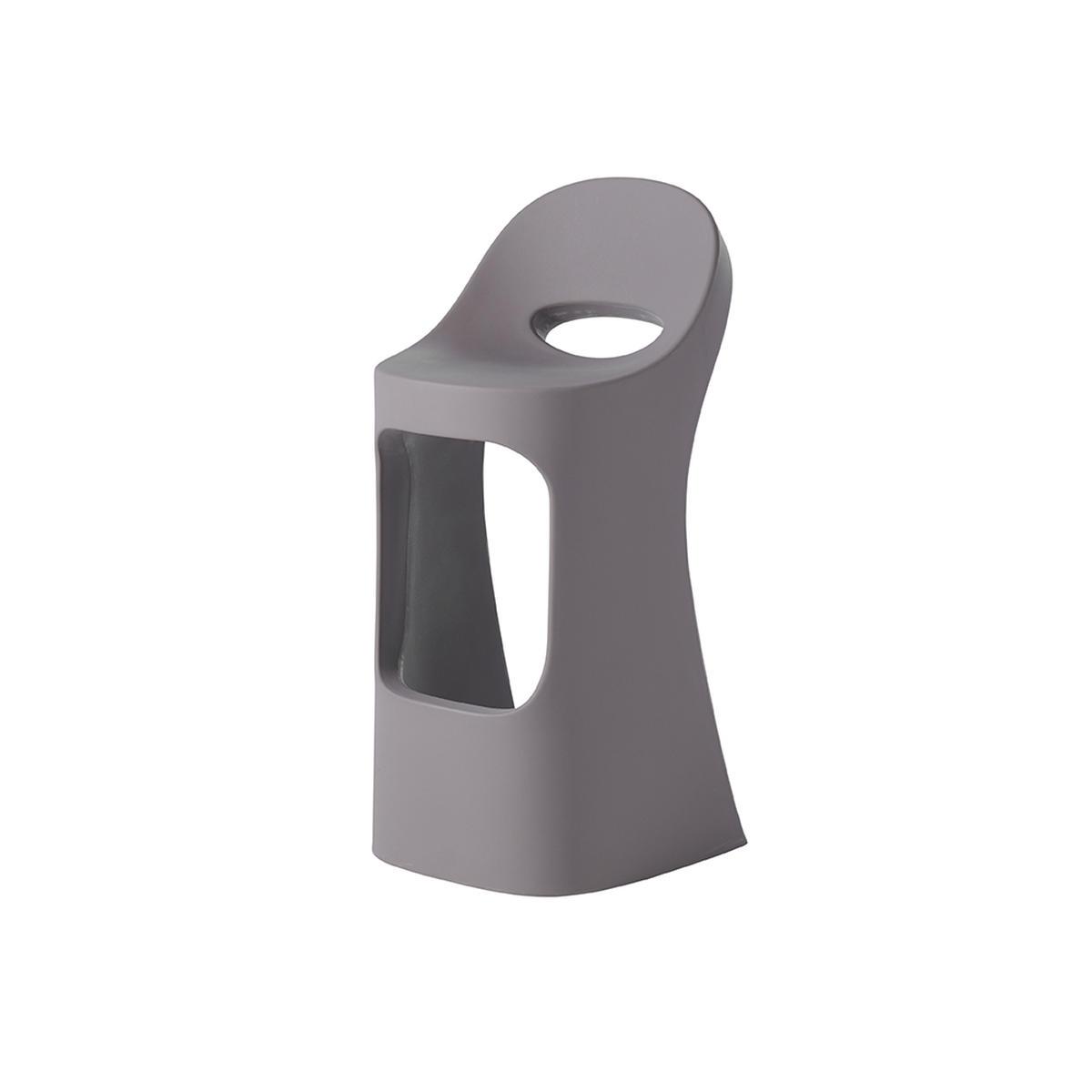 AMELIE SIT UP Barhocker argil grey