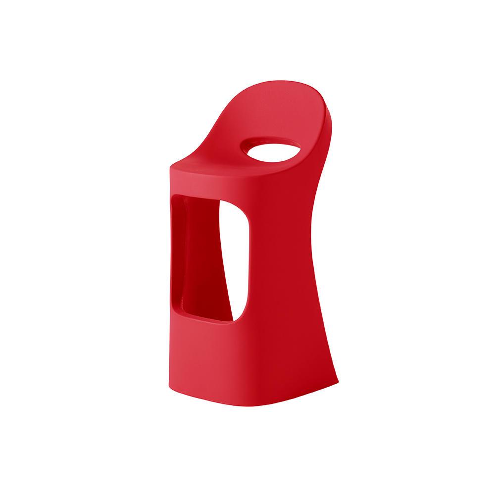 AMELIE SIT UP Barhocker flame red