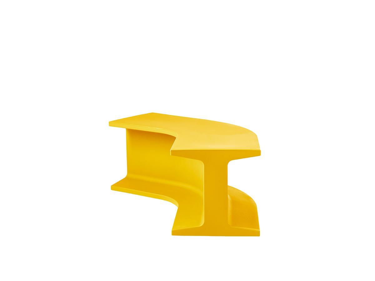 IRON Bank saffron yellow