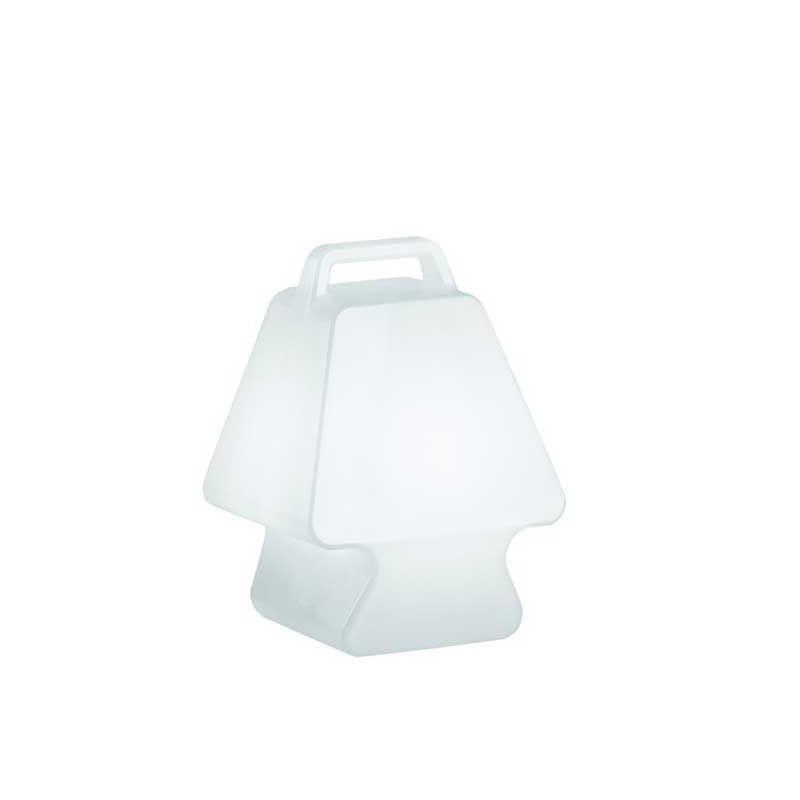 PRET-A-PORTER Leuchte mit Akku und LED 3 Watt, Gehäuse weiß