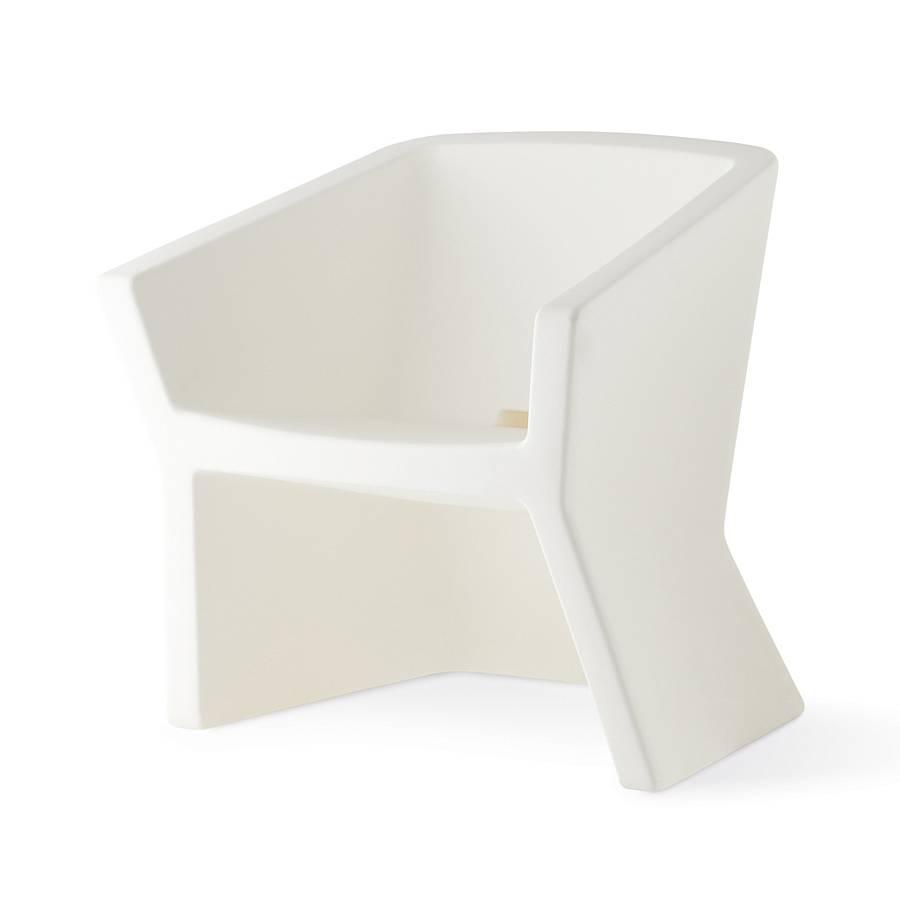 EXOFA Sessel / Stuhl milchweiß
