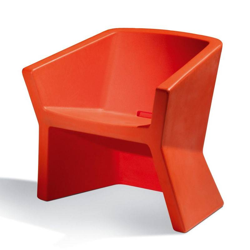 EXOFA Sessel / Stuhl, orange
