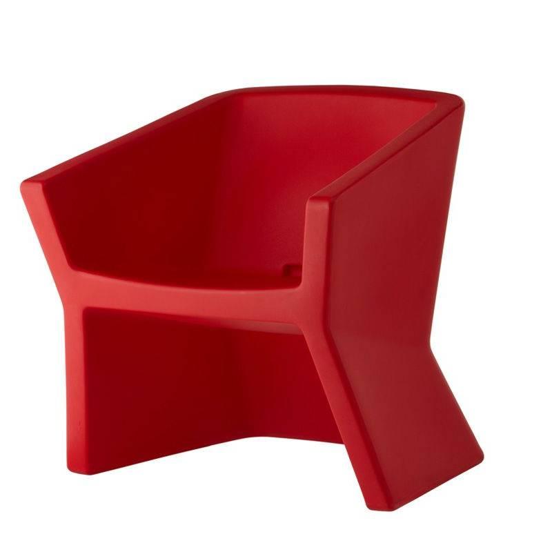EXOFA Sessel / Stuhl rot
