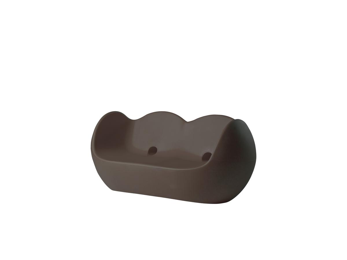 BLOSSY Sofa chocolate