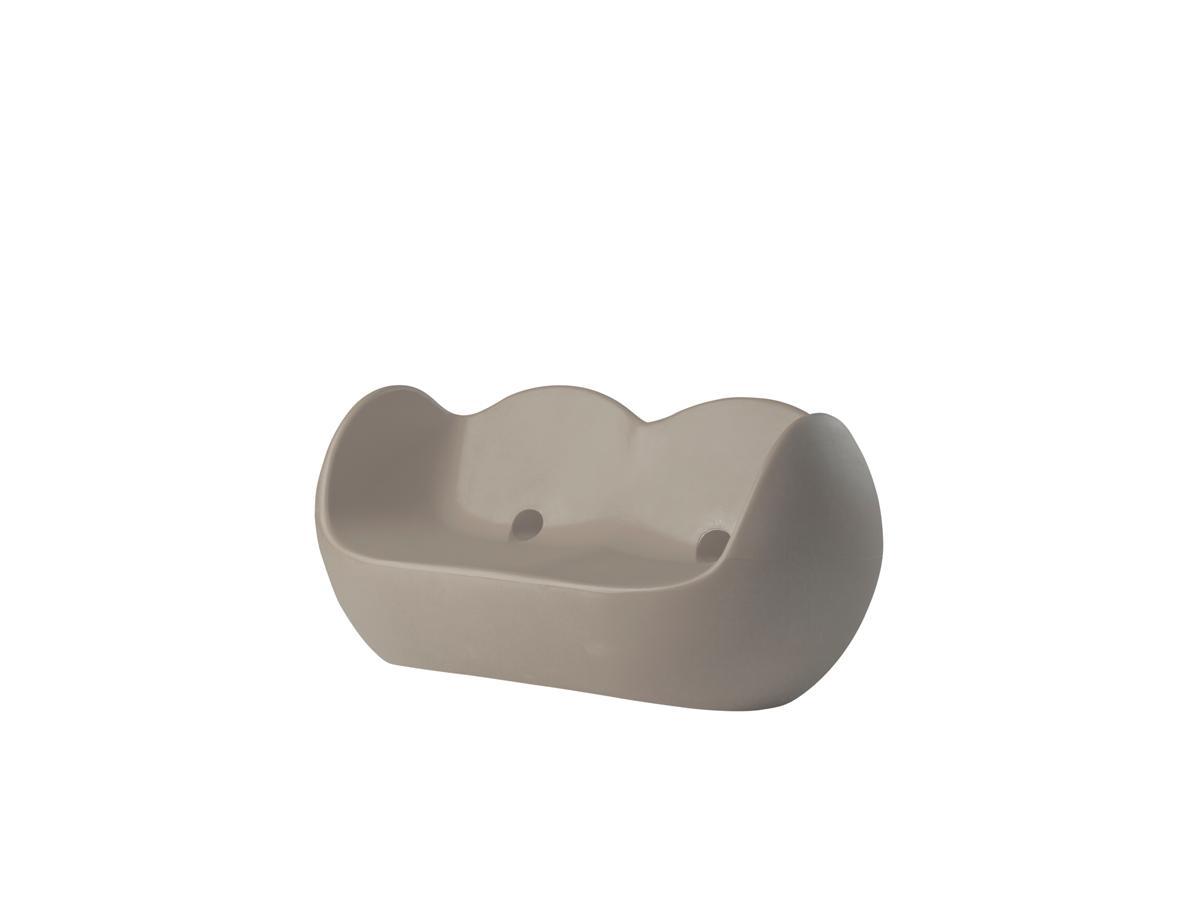BLOSSY Sofa dove grey