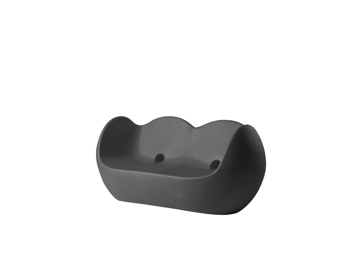 BLOSSY Sofa elephant grey