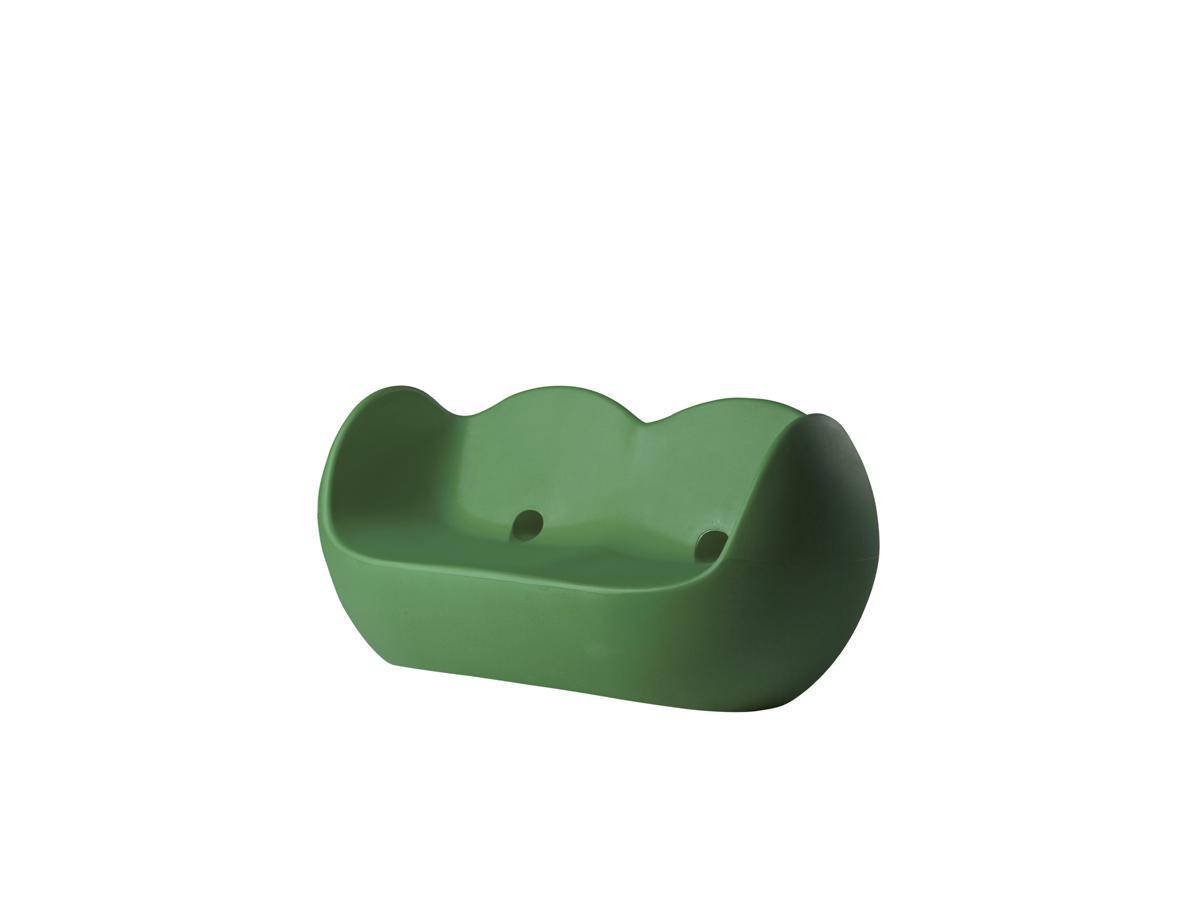 BLOSSY Sofa malva green