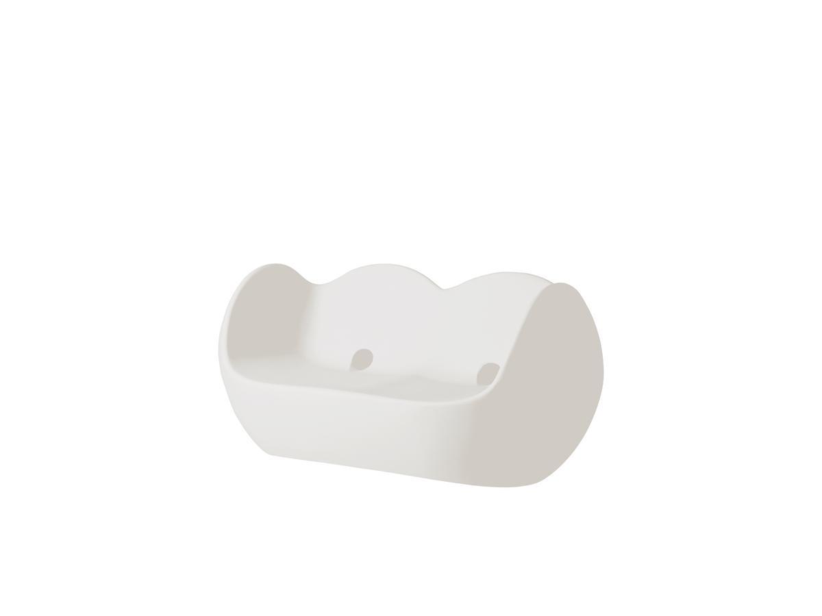 BLOSSY Sofa milky white