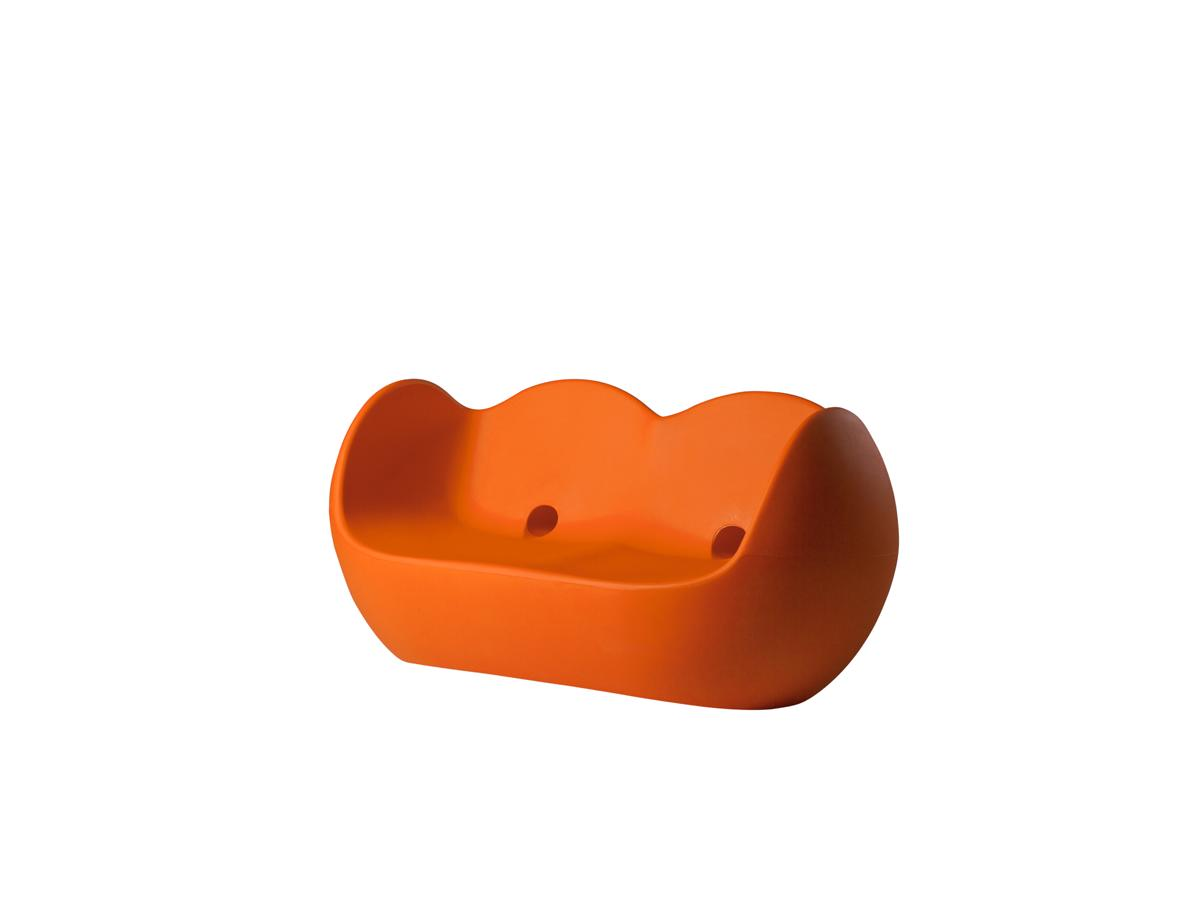 BLOSSY Sofa orange