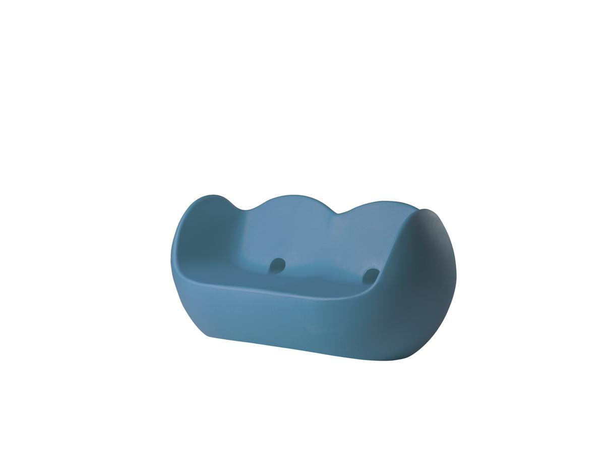 BLOSSY Sofa powder blue