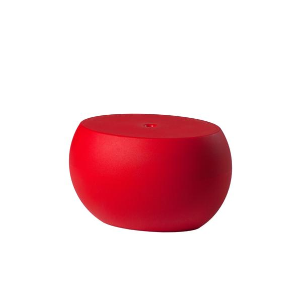 BLOS LOW TABLE Beistelltisch flame red